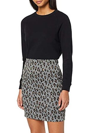 Dorothy Perkins Women's Animal Pull On Mini Skirt
