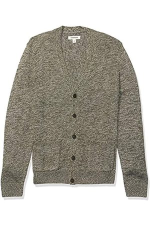 Goodthreads Supersoft Marled Cardigan Sweater Olive
