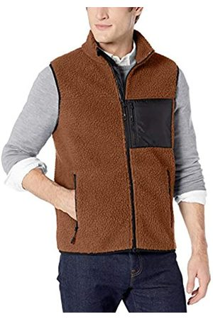 Goodthreads Sherpa Fleece Vest Tan