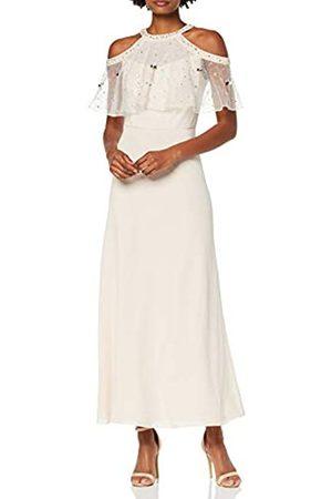 Dorothy Perkins Women's Nadia Embellished Cold Shoulder Maxi Dress Party