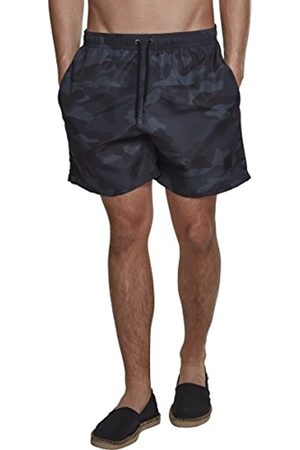 Urban classics Men's Camo Swimshorts Swim Shirt