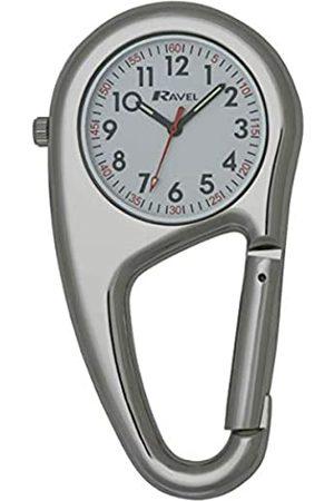Ravel Belt Clip Quartz Watch - Tone