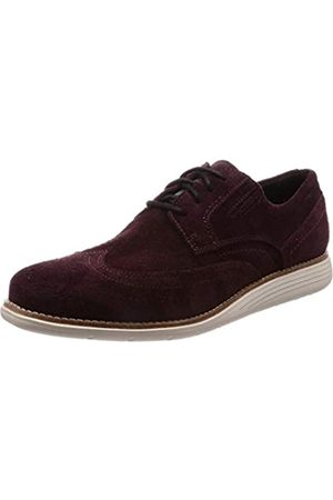 Rockport Men's Total Motion Sport Dress Wingtip Brogue, (Burgundy Sde 001)