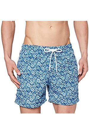 Urban classics Men's Badehose Floral Swim Shorts Trunks
