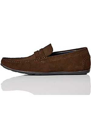 find. Amazon Brand - Men's Loafers, (Chocolate )