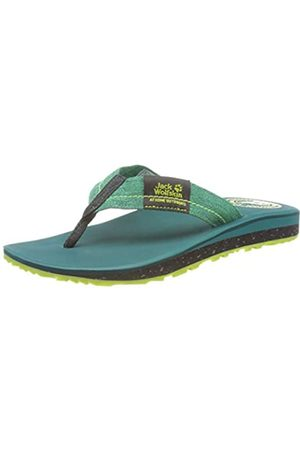 Jack Wolfskin Men's Beachster M Flip Flops, (Dark /Phantom 4468)