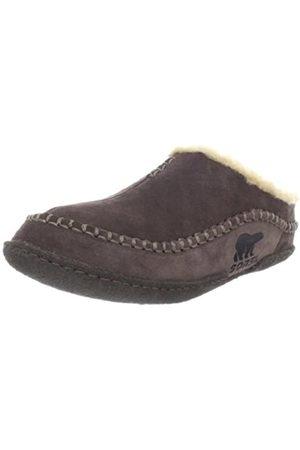sorel Falcon Ridge Slippers, Men's Open Back Slippers, (bark)
