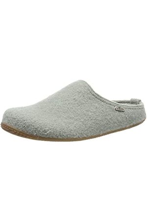 Living Kitzbühel Unisex Adults' Pantoffel Unifarben mit Fußbett Open Back Slippers, (Lily pad 0415)