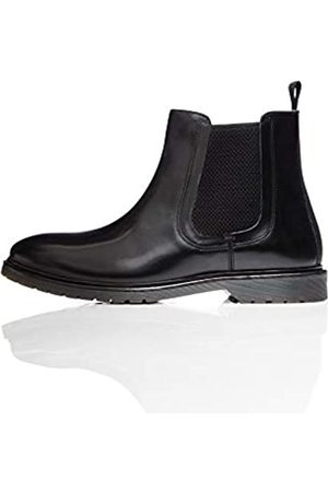 find. Leather Cleated Chelsea Boots, Polido)