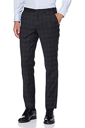 Selected Homme Men's Slhslim-Kaleb Check TRS B Noos Suit Trousers