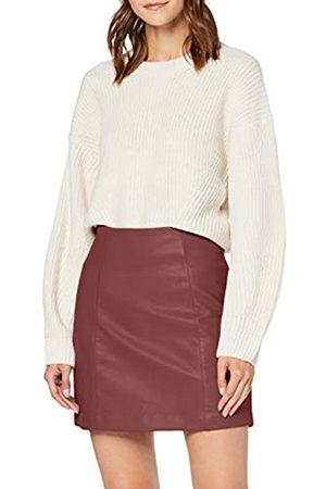 New Look Women's AW19 Seamed PU Mini Skirt