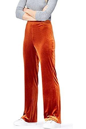 FIND Women's Two Tone Velvet Trouser
