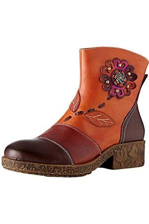 LAURA VITA Women's Cocreeo 03 Ankle Boots, (Brun Brun)