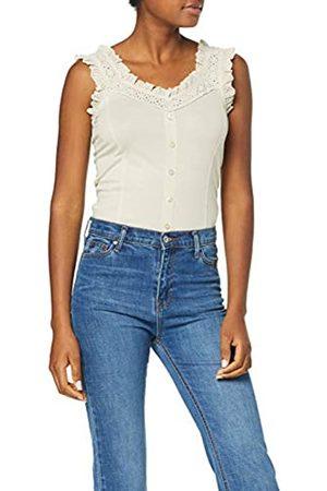 Dorothy Perkins Women's Broidery Trim Vest Top