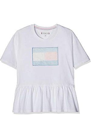 Tommy Hilfiger Girl's M Fur Flag Tee S/s T-Shirt