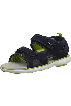 Geox Men's U Nebula L B Open Toe Sandals, (Navy C4064)