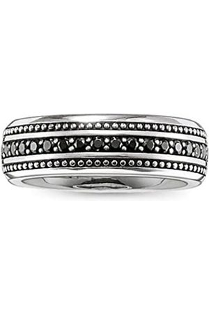 Thomas Sabo Rebel at Heart 925 Sterling Silver Zirconia Size: 62 (19.7) TR2004 Unisex Ring Silver/11 62