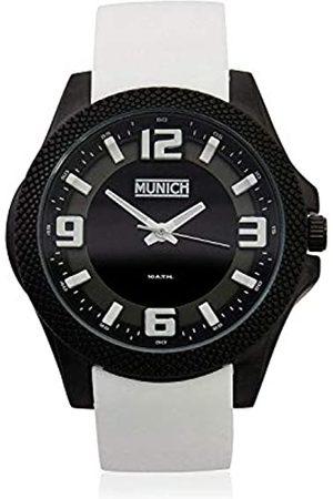 Munich Unisex Adult Analogue Quartz Watch with Rubber Strap MU+125.7A