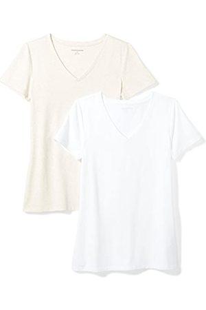 Amazon Essentials 2-Pack Short-Sleeve V-Neck T-Shirt