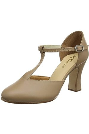 So Danca Women's Ch98 Tap Dancing Shoes, (Caramel)