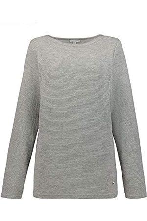 GINA LAURA Women's Sweatshirt Mit U-Boot Ausschnitt