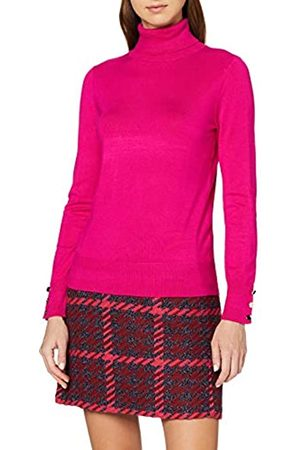 Dorothy Perkins Women's Button Cuff roll Neck Jumper