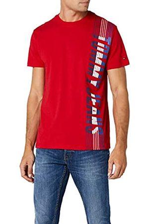 Tommy Hilfiger Men's Vertical Short Sleeve T-Shirt
