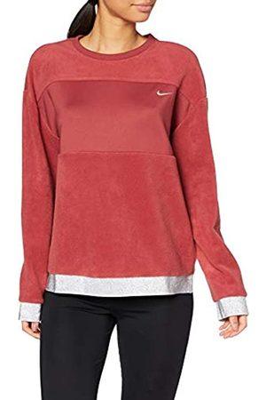 Nike Women's Icon Clasische Them Fleece Crew Sweatshirt