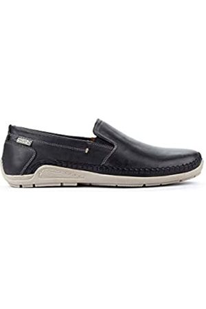 Pikolinos Leather Loafers Azores 06H Navyblue