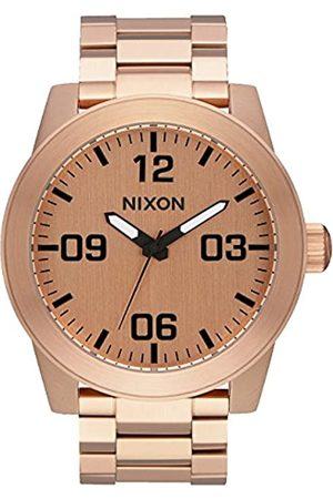 NIXON Mens Analogue Quartz Watch with Stainless Steel Strap A346-897-00
