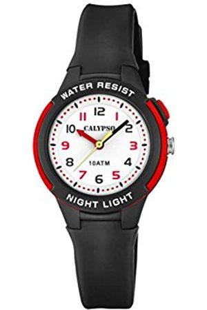 Calypso Unisex Child Analogue Quartz Watch with Plastic Strap K6069/6