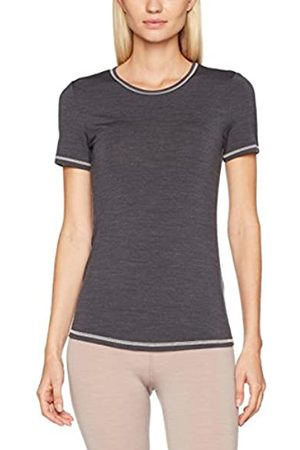 Skiny Women's Active Wool Shirt Kurzarm Thermal Top