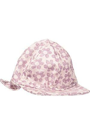 Melton Baby Girls' Sonnenkappe mit Nackenschutz UV30+, Gemustert Cap