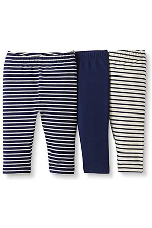 Moon and Back by Hanna Andersson Moon and Back 3 Pack Legging Navy