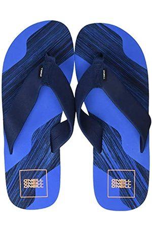 O'NEILL Men's Fm Concrete Stripe Sandals Shoes & Bags, (Neon Dark 5144)