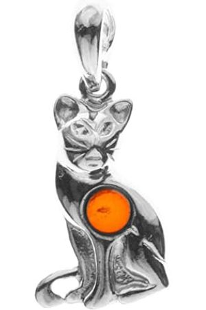 InCollections 0010200650890 Amber Sterling 925 Pendant