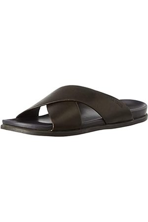 Leatherman Men's 49614 Open Toe Sandals, (Marron Marron)