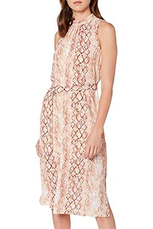 Dorothy Perkins Women's Snake Halter MIDI Dress