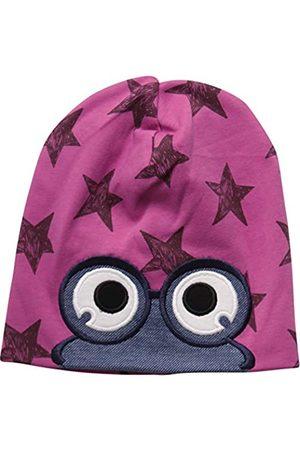 Green Cotton Baby Girls' Star Peep Beanie Hat
