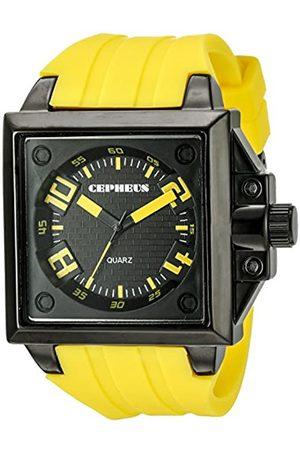 CEPHEUS Men's Quartz Watch CP904-629B CP904-629B with Rubber Strap
