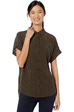 Goodthreads Viscose Short-sleeve Shirt Tan/ Texture