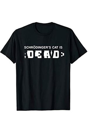 My Shirt Hub Schrodinger's Cat Alive Dead T-Shirt