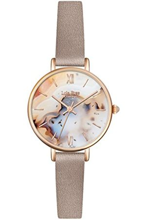 Lola Rose Women's Quartz Watch with Dial Analogue Display and Leather Strap LR2044