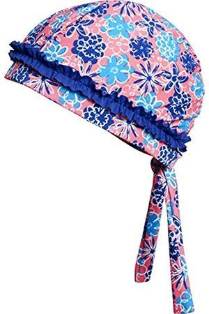 Playshoes Girl's Sun Protection Swim Cap, Headscarf Flowers