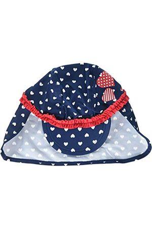 Playshoes Baby Girls' UV-Schutz Mütze Herzchen Hat