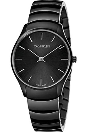Calvin Klein Unisex Adult Analogue-Digital Quartz Watch with Stainless Steel Strap K4D22441