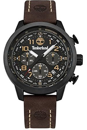 Timberland Men's Chronograph Quartz Watch with Leather Strap TBL.95019AEU/01B