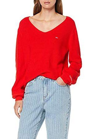 Tommy Jeans Women's Tjw Sleeve Detail Sweater Sweatshirt