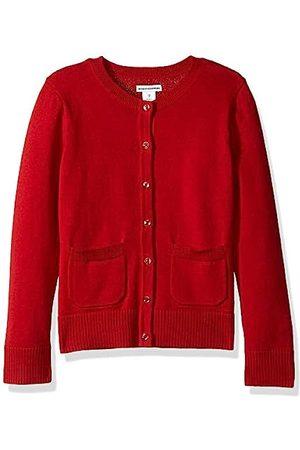 Amazon Essentials Girls' Uniform Cardigan Sweater Scooter