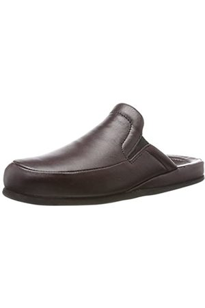 Beck Men's Joseph Open Back Slippers, (Bordeaux 29)